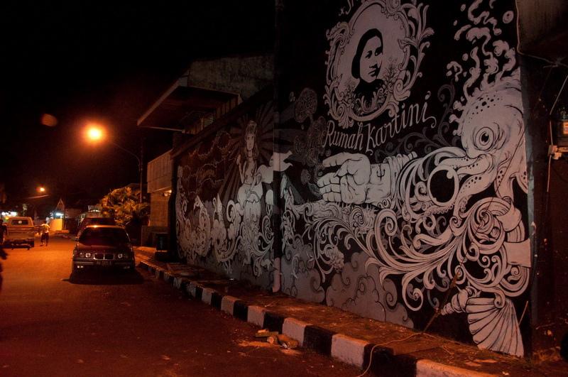Seni Mural Rumah Kartini Japara