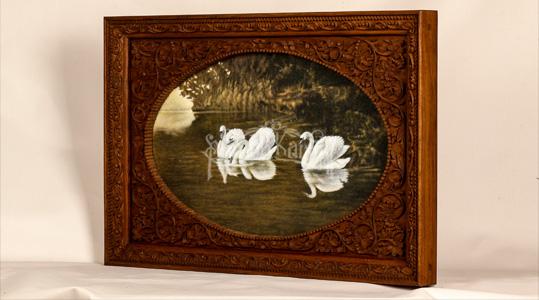 Koleksi-karya-seni-Lukis-4-Angsa-Rumah-Kartini-Japara-Indonesia