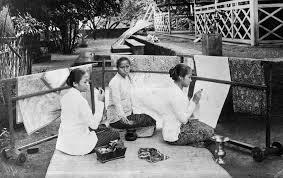 Sejarah Karya seni batik Kartini Kardinah Roekmini oleh Rumah Kartini Japara